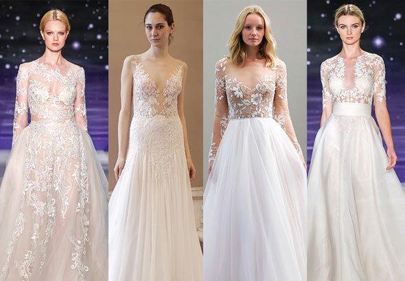 Голые свадебные платья фото 413-638